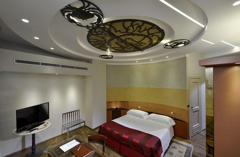 Habitación art hotel commercianti bologna