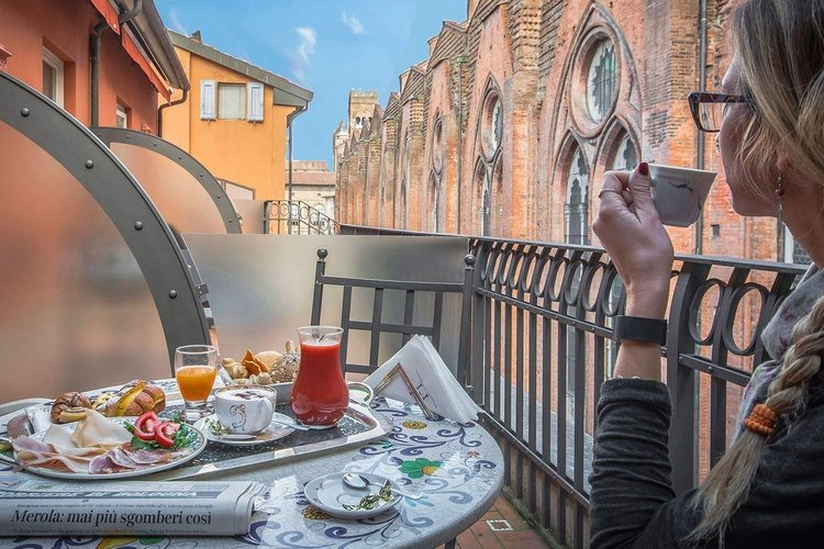 Terraza art hotel commercianti bologna