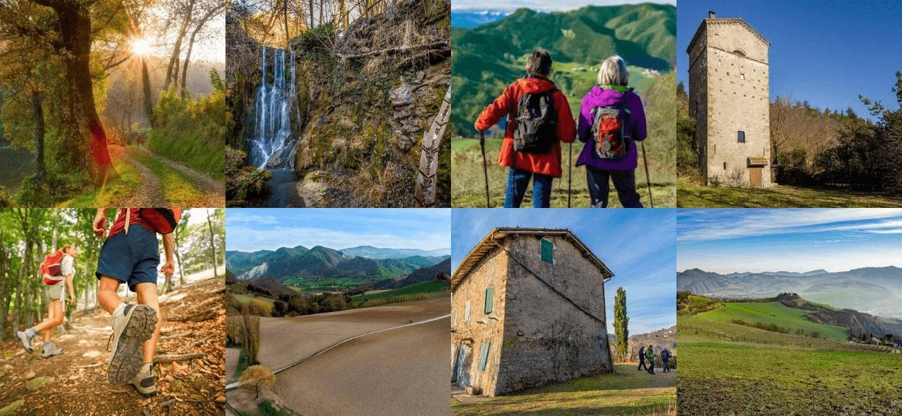 TREKKING ON APENNINE PATHS