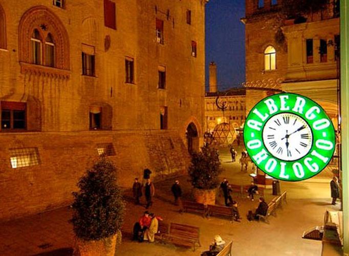 Exteriores  art hotel orologio bolonia