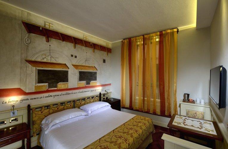 HabitaciÓn doble clÁsica art hotel commercianti bologna