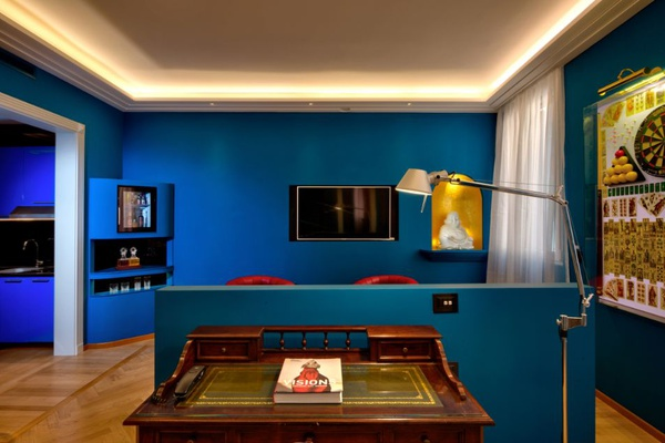 Luxury Apartments Battibecco  Art Hotel Commercianti en Bolonia