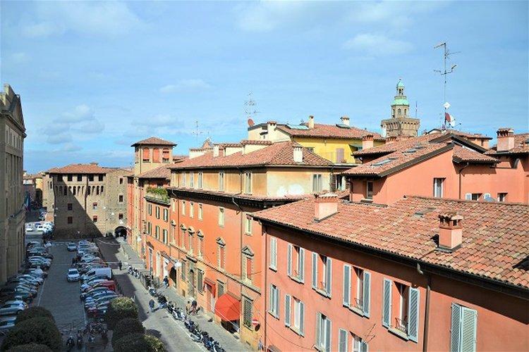 Panorámica  art hotel novecento bolonia, italia
