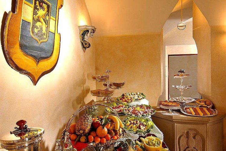 Desayuno buffet  art hotel commercianti bolonia