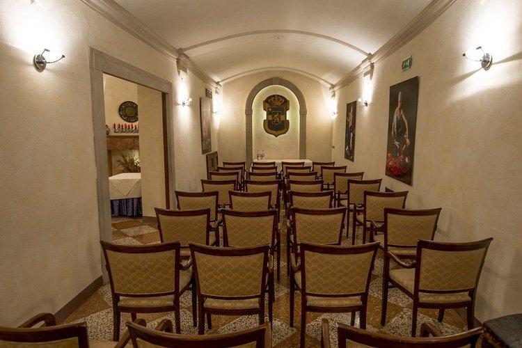 Sala de reuniones art hotel commercianti bologna