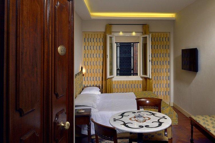 Habitación individual art hotel commercianti bologna