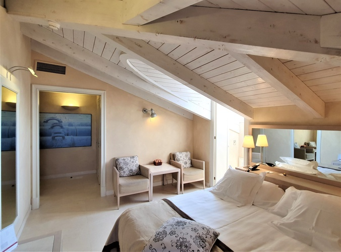 Habitación deluxe  art hotel novecento bolonia