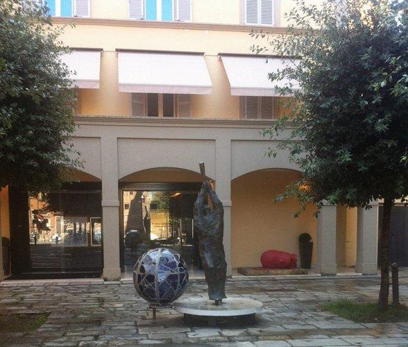 Entrada  Art Hotel Novecento Bolonia, Italia